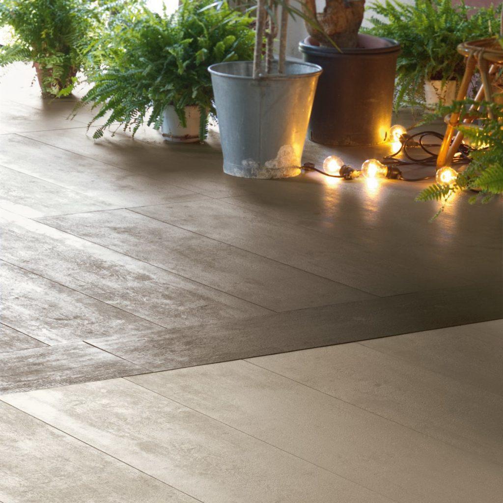 Коллекция Mutina Flow – это высококачественное напольное покрытие нового поколения, максимально имитирующее самые редкие виды древесины.