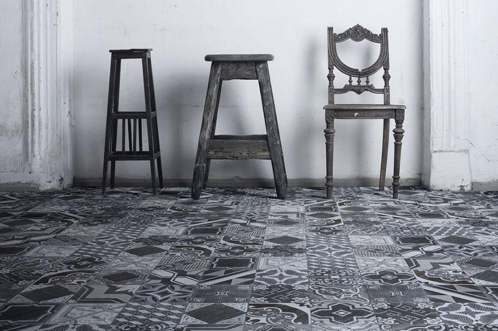 richard carrelages made in laverune parution paris match. Black Bedroom Furniture Sets. Home Design Ideas